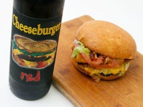 Насладитесь вином для чизбургеров