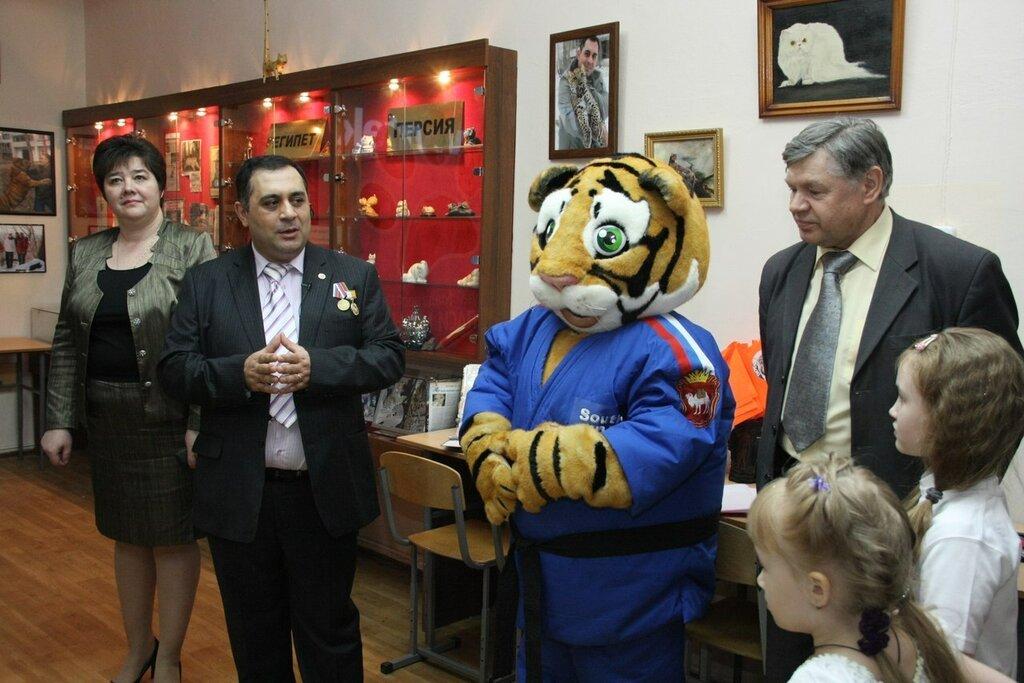 На открытии музея (16.01.2014)