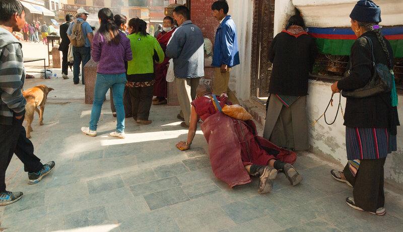 Катманду.  Боднатх