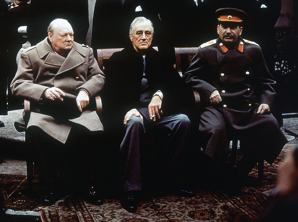 Крымская (Ялтинская) конференция (4–11 февраля 1945 г.)