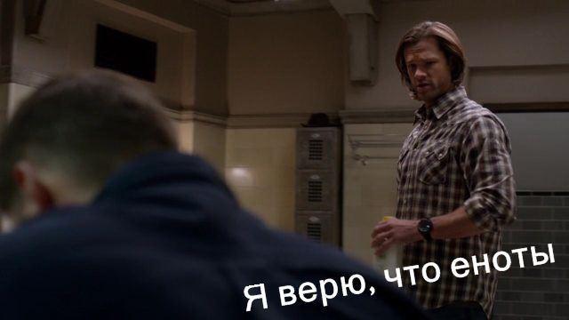 Дин и Сэм: Я знаю пароль, я вижу ананас…