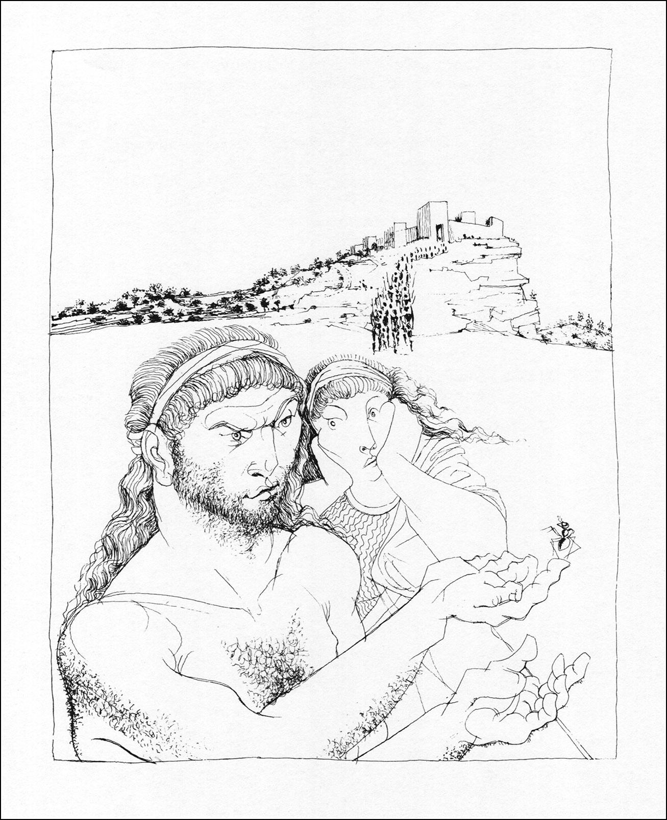 Michael Ayrton, Archilochos