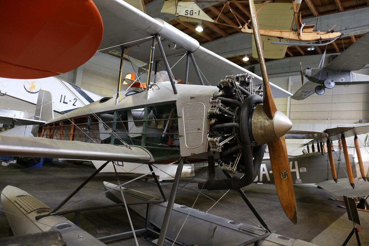 Sääski IIA seaplane (Finnish aviation Museum in Vantaa)