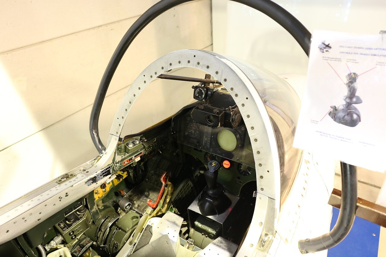 Авиамузей Вантаа. Saab 35BS Draken