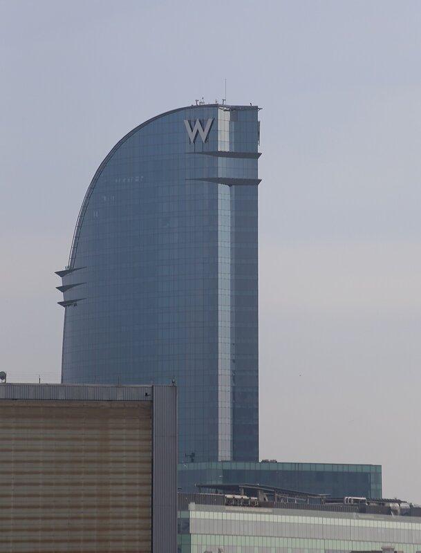 Отель Barcelona W hotel