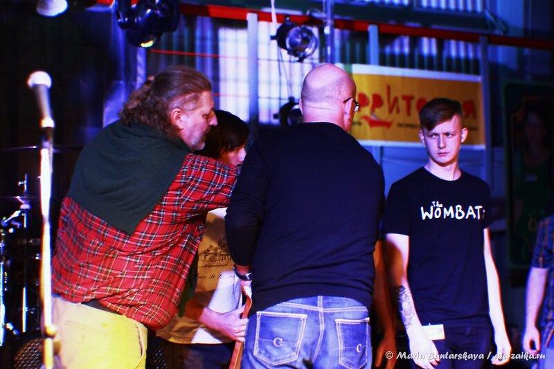 Награждение призёров и победителей фестиваля 'Жёлтая гора', Саратов, ФОК 'Звёздный', 17 января 2014 года