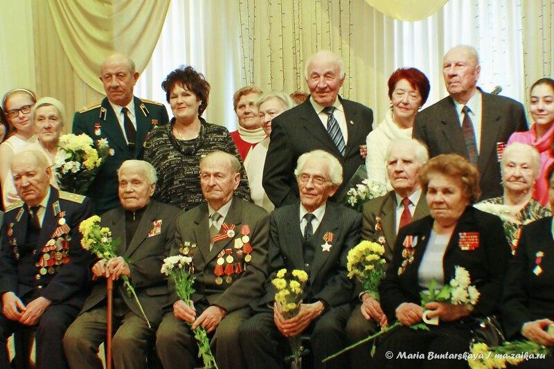 70-й годовщине полного освобождения советскими войсками города Ленинграда от фашистской блокады, Саратов, Саратовский областной дом работников искусства, 29 января 2014 года