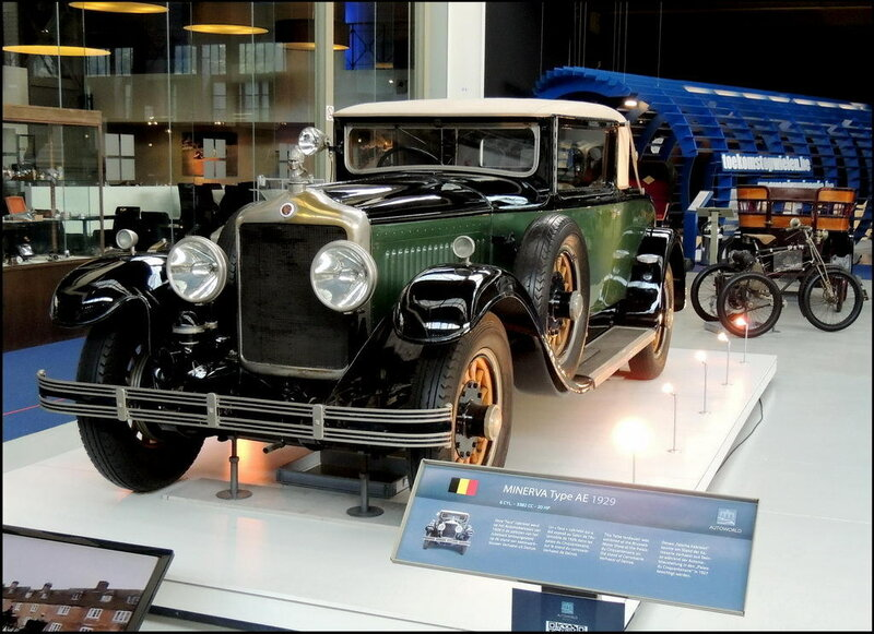 Autoworld 8047 Minerva Type AE 1929
