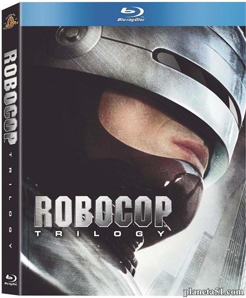 Робокоп / Робот-полицейский. Трилогия / RoboCop. Trilogy (1987-1993/HDRip)