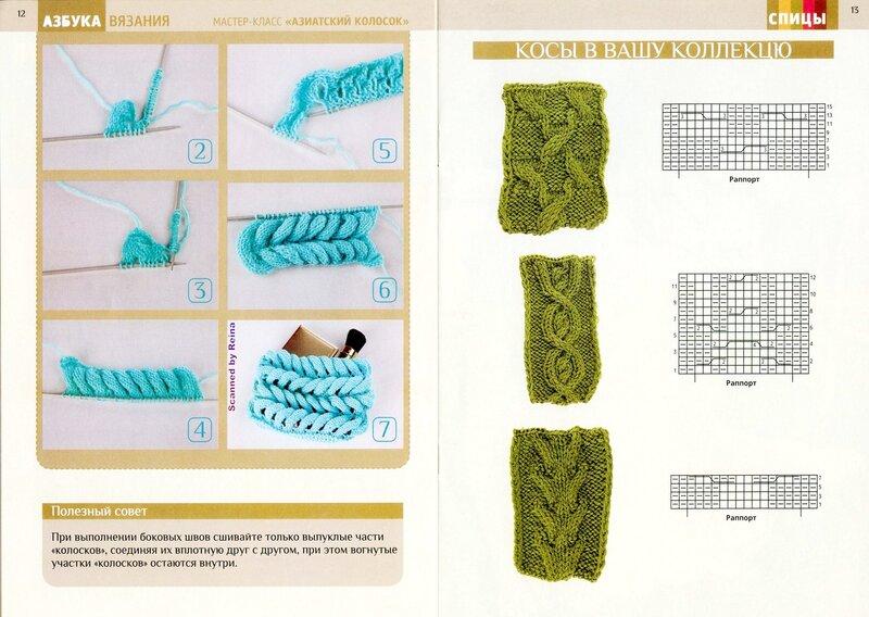 Вязание на спицах учится 160