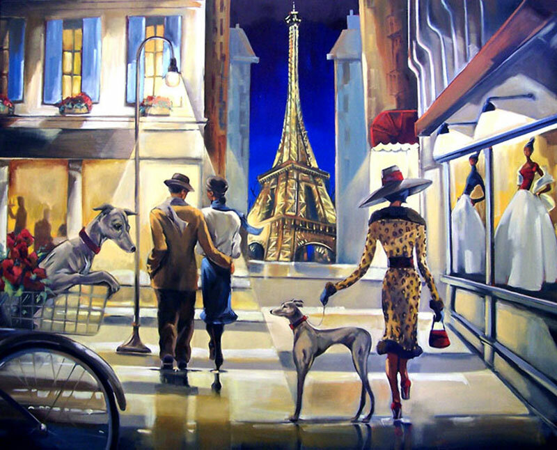 Прогулка по парижу картинки
