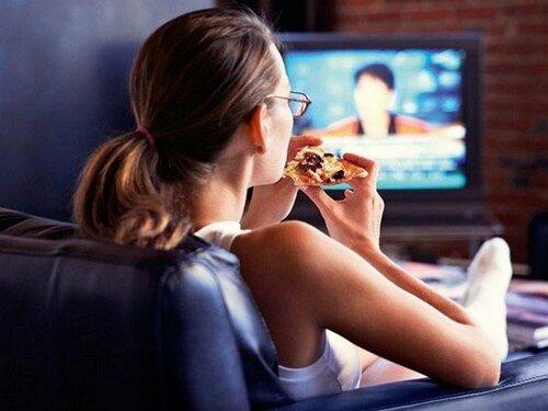 Еда и телевизор