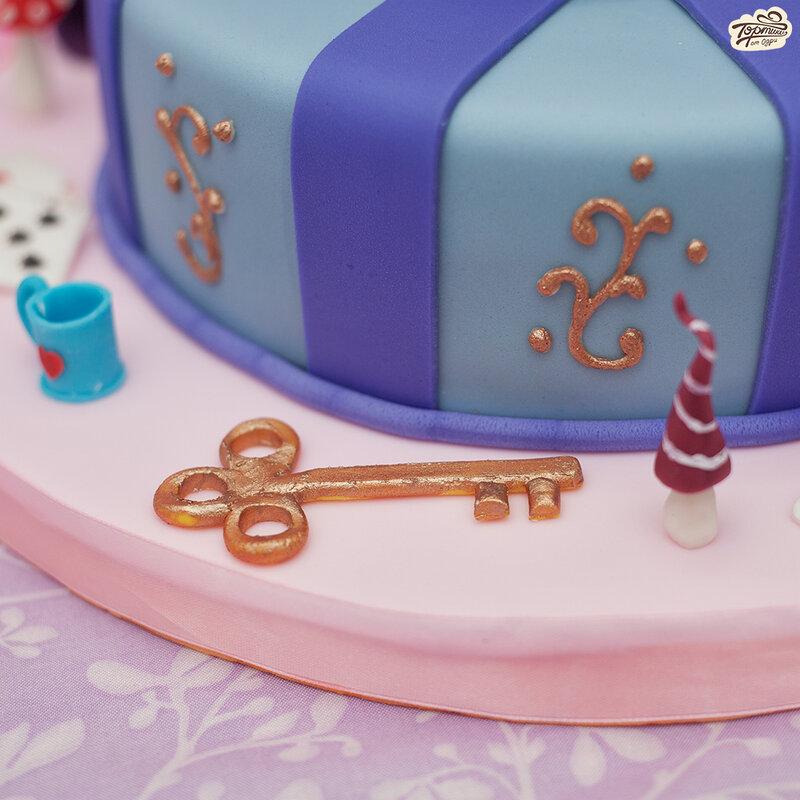 торт алиса в стране