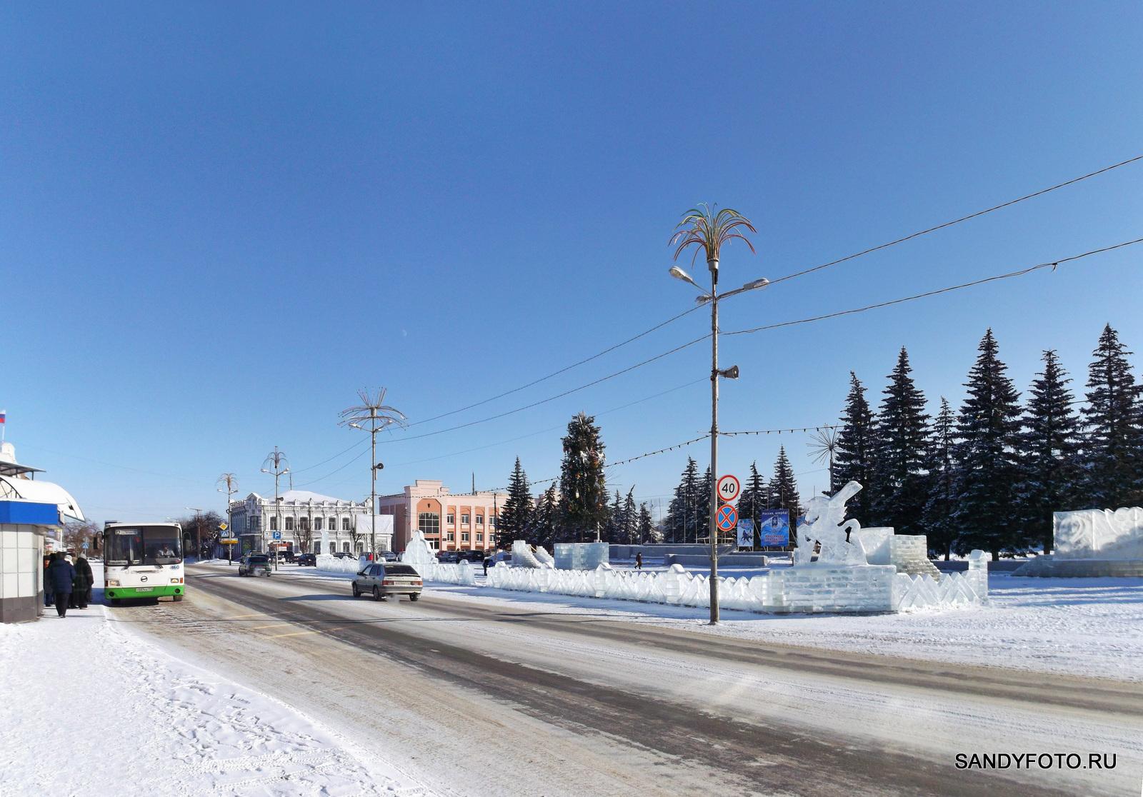 Про трансляцию Олимпийских Игр в Сочи на центральной площади  Троицка