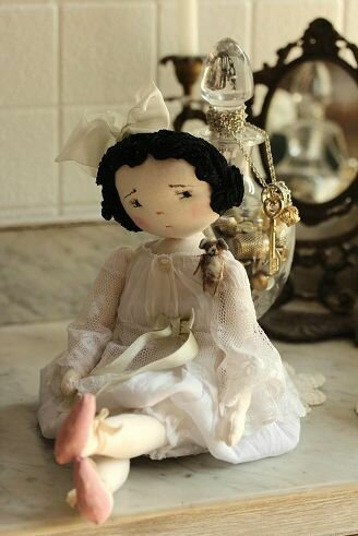 кукла винтажная