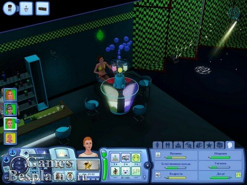 The Sims 3: В сумерках / The Sims 3: Late Night