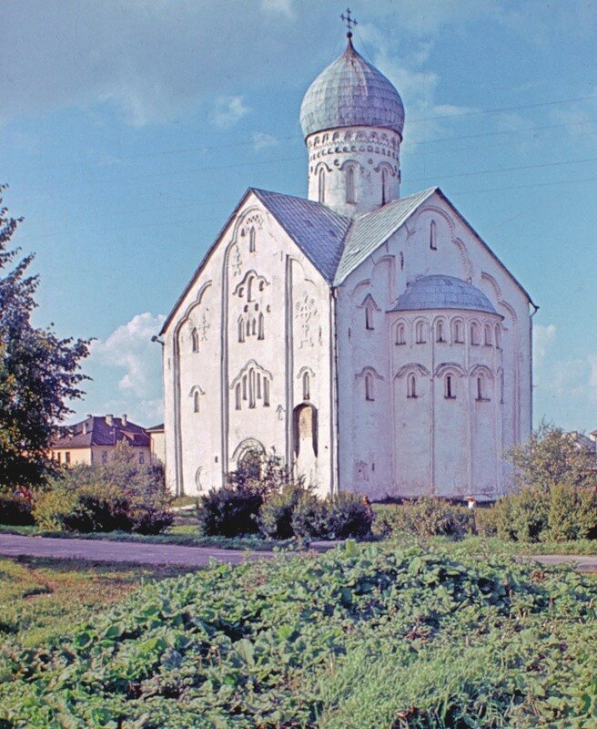 Новгород.Церковь Спаса на Ильине улице.