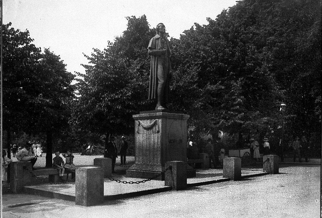 Памятник Шиллеру. 1912 год