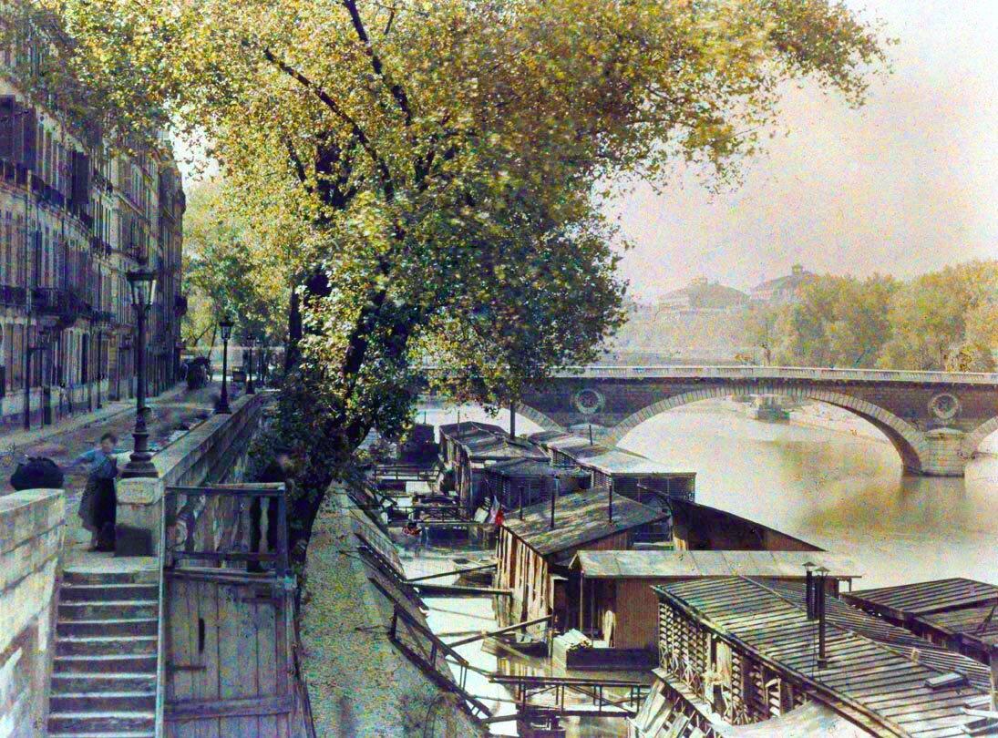 1910. Набережная Бурбон