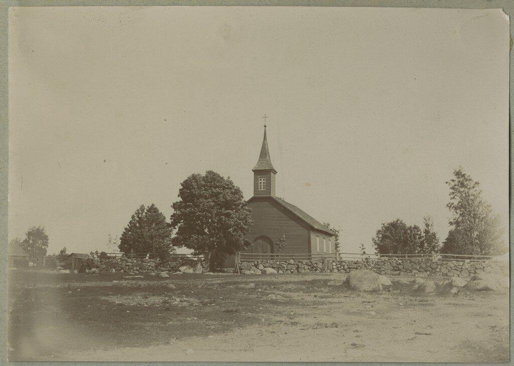 1900. Часовня в Кясму, которая была возведена в 1863 году и освящена в 1864 году