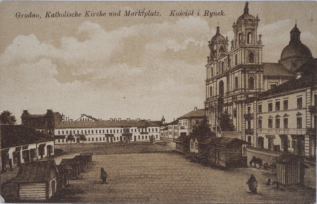 Греко-католическая церковь и Рыночная площадь