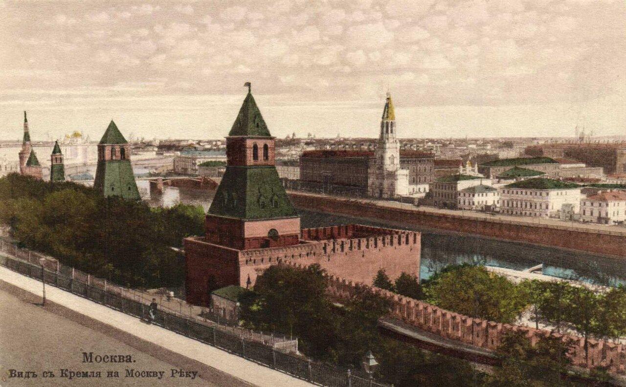 Кремль. Вид на Москву-реку
