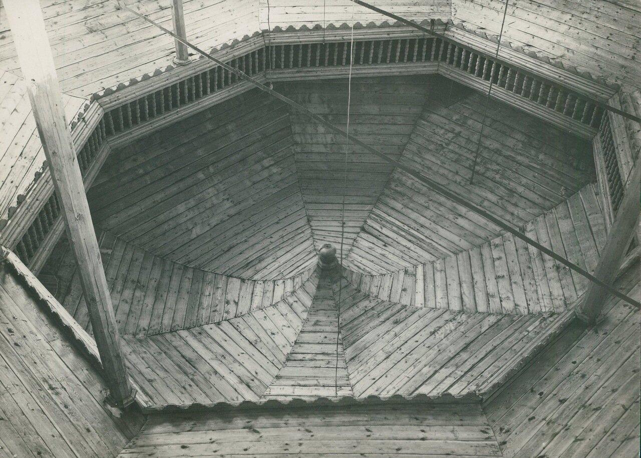 Древняя деревянная синагога. Купол
