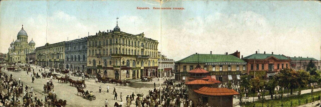 Панорама Николаевской площади