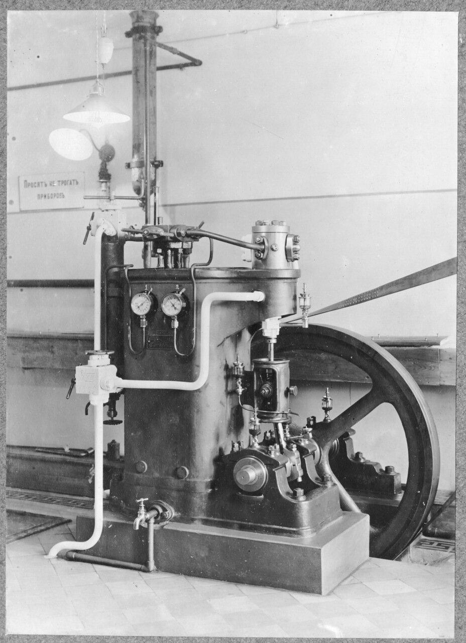 41. Механическая лаборатория. Машина для замораживания