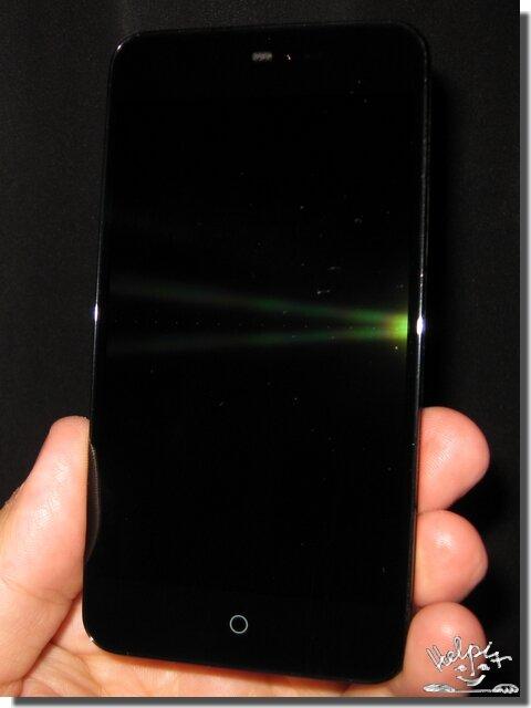 Meizu MX2 - вид спереди