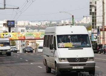 Стоимость проезда в кишинёвских маршрутках может увеличиться до 4 лей