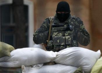При штурме военного центра в Симферополе убит украинский военный