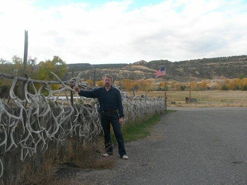Осторожно!! Эта ограда может забодать!..