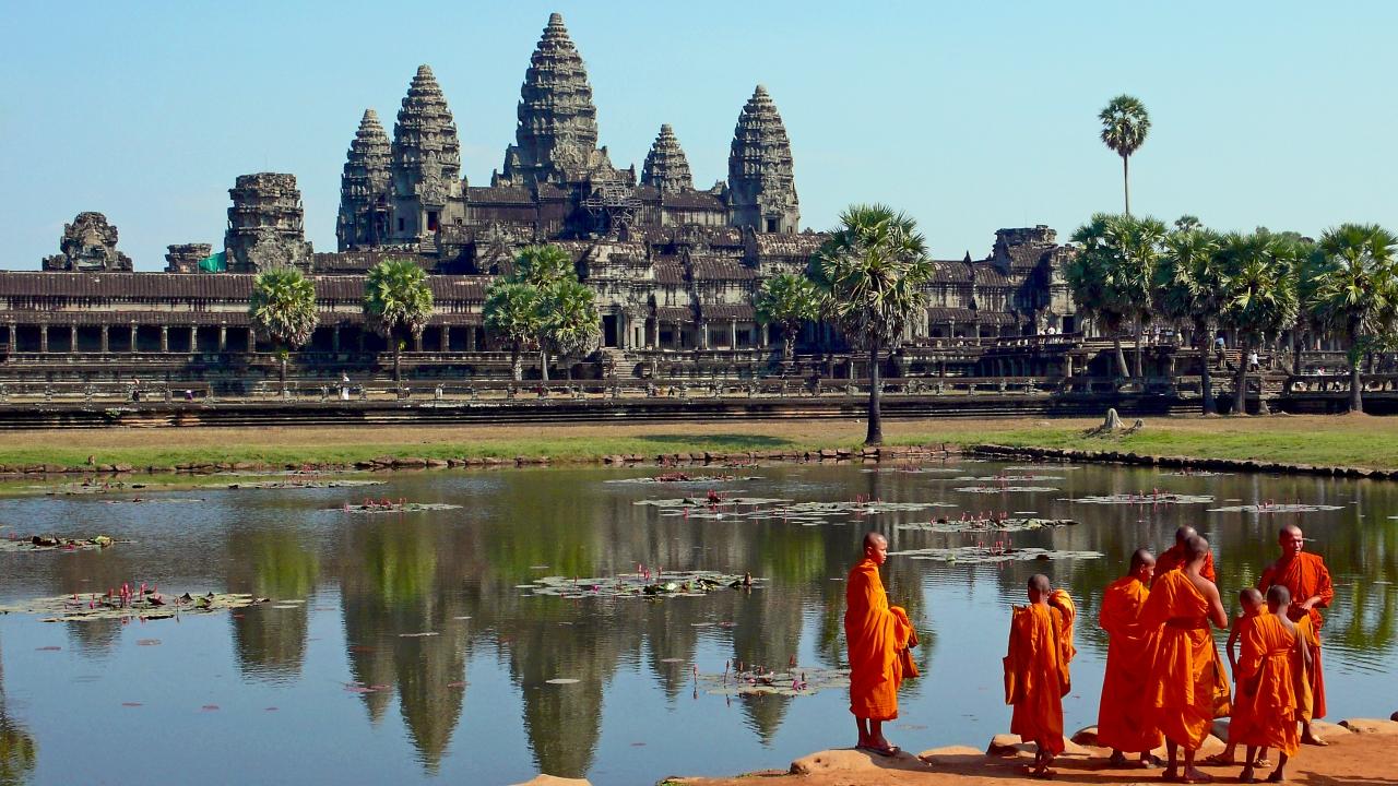 В Камбодже можно посетить уникальный храм