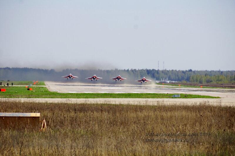 Парад Победы 2015 - авиация на аэродроме Кубинки