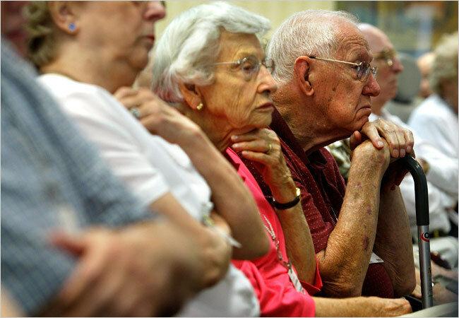 Economist: к 2035г число стариков в мире удвоится