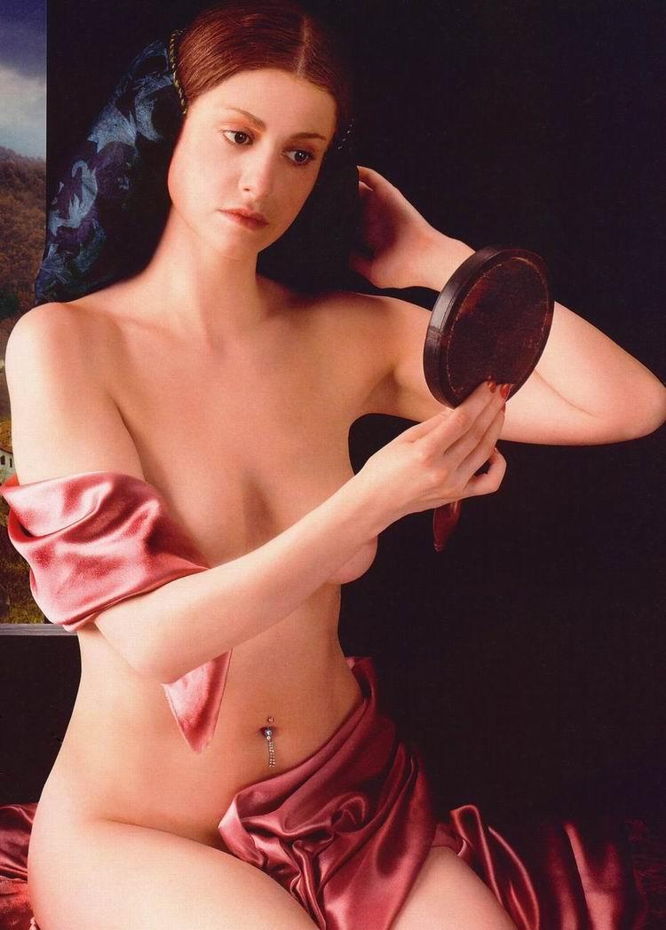 Голая Анна Ковальчук в журнале Караван Историй 2005