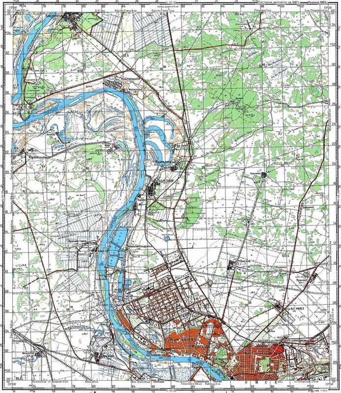 Карта Омска Скачать - фото 8
