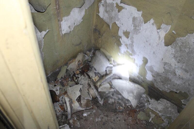 Заброшенное бомбоубежище.