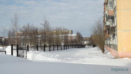 Фото города Инта №6482  Воркутинская 11 и 7 02.03.2014_11:50