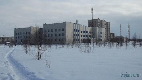 Фотография Инты №6494  Северо-зпадный угол Мира 51 (школа №10) 12.03.2014_12:41