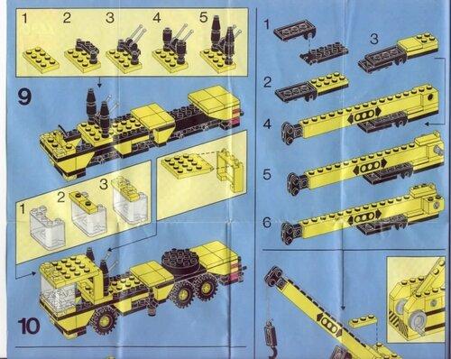 Грузовики из конструктора Лего