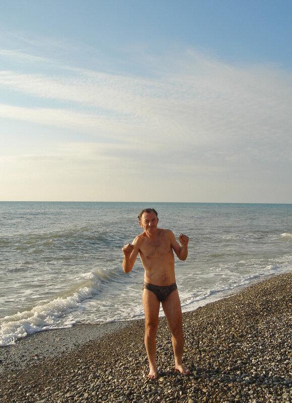 Фото 23. Комочков на зимнем пляже