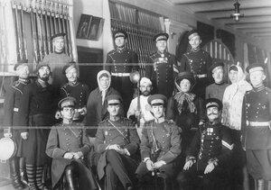 Группа участников спектакля Кашевар Тимошкин.