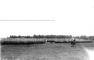Движение полка на Военное поле.