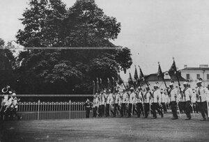 Церковный парад полка.
