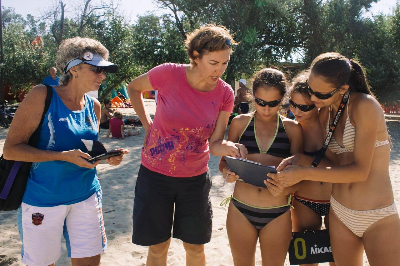 Анапа спорт на пляже