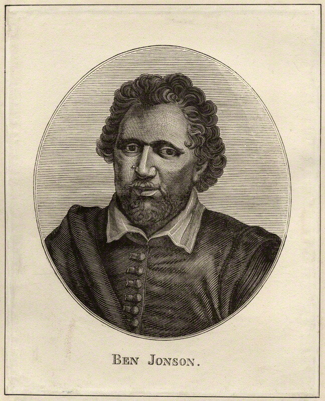 a biography of ben jonson a comedy writer