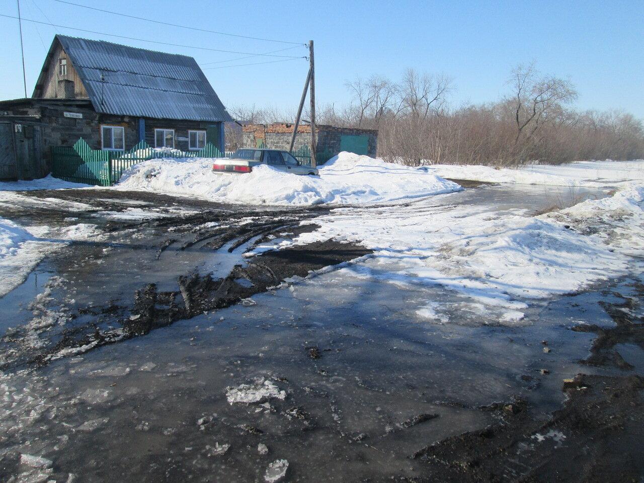 Улицу Челюскина затопит