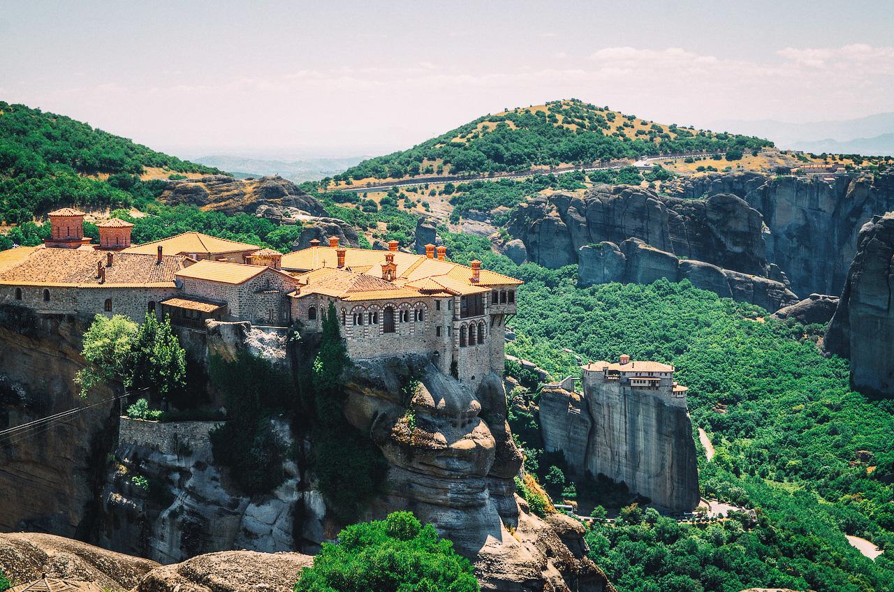 Метеоры, Монастырь Варлаама